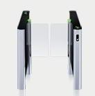 Couloir de contrôle d'accès ST-01 avec les vantaux standards (un passage)