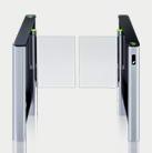 Couloir de contrôle d'accès ST-01 avec les vantaux larges (un passage)